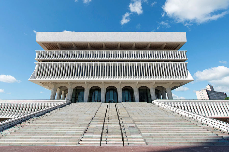 Empire State Plaza Grand Stair  ||  Albany, NY