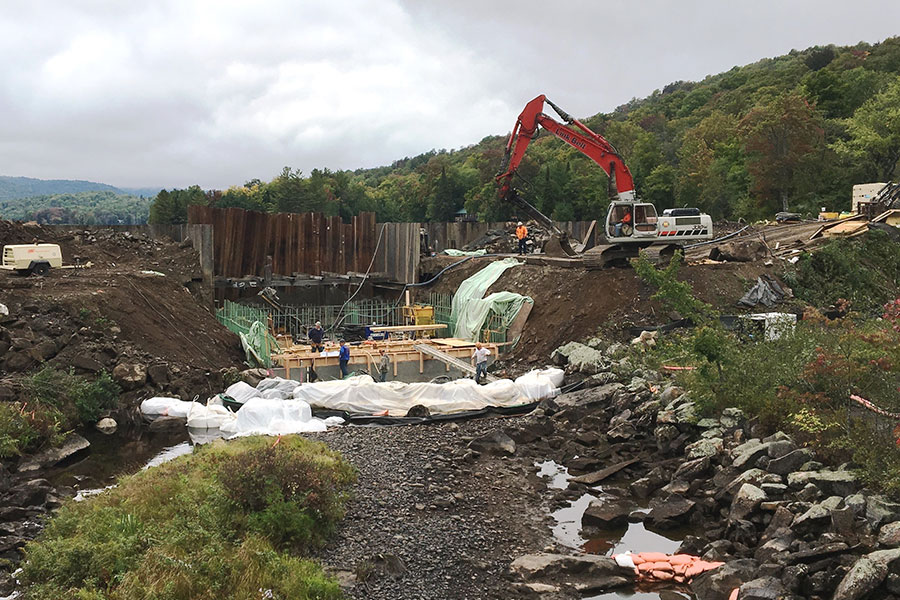 Goodnow Flow Spillway Replacement & Dam Reconstruction || Newcomb, NY