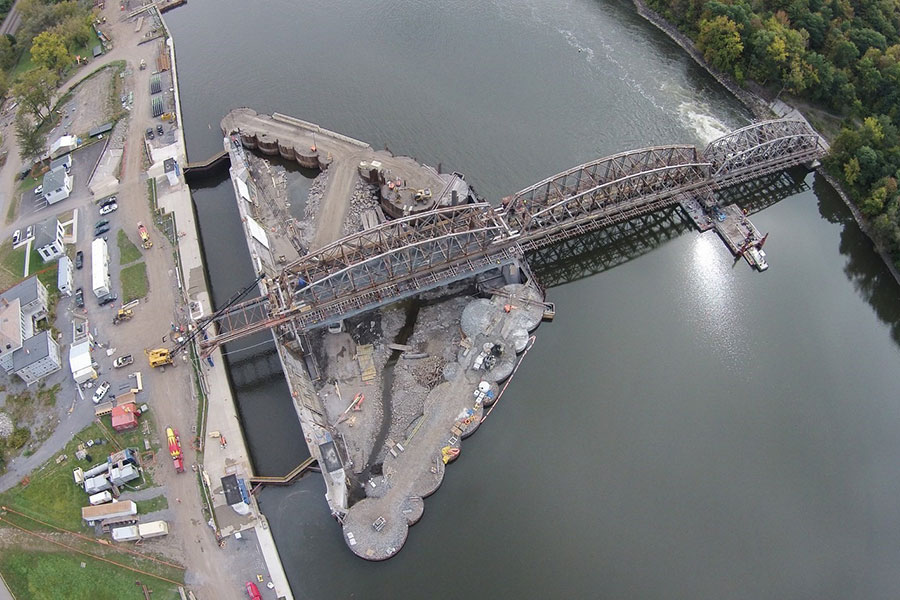 Rehabilitation of Locks 9 through 15 || Mohawk River, Various Locations in New York State
