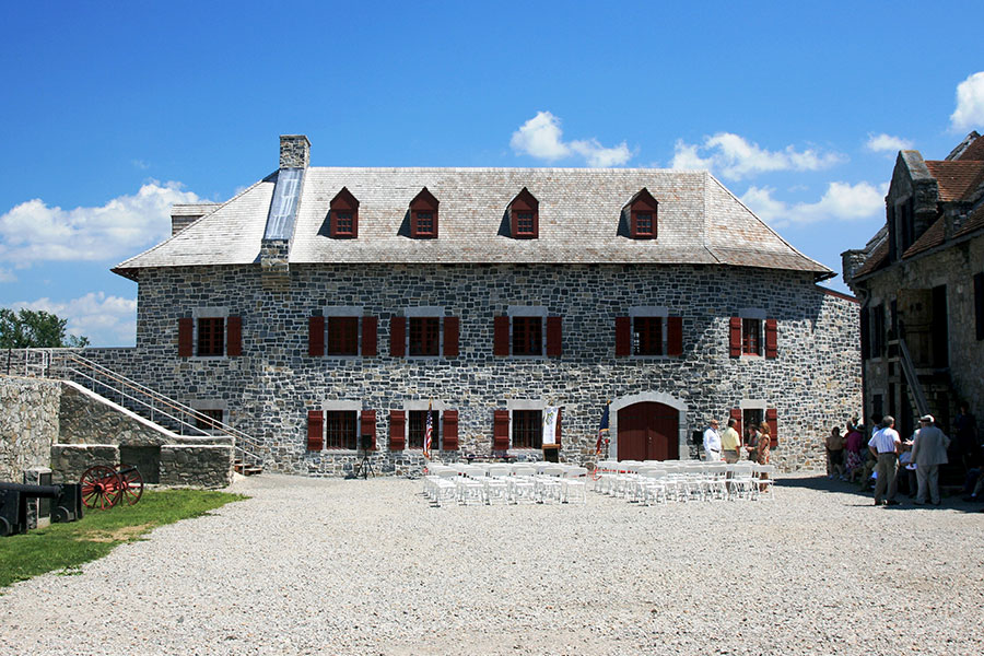 Deborah Clarke Mars Education Center || Fort Ticonderoga, Ticonderoga, NY